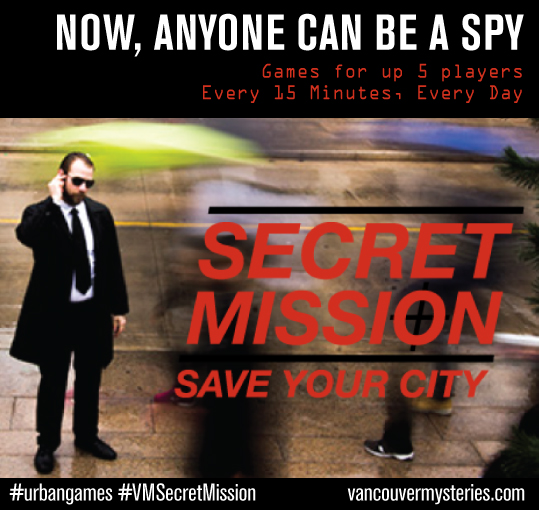 Spy Game Secret Mission Now Available for Teams of 2 Players and Up